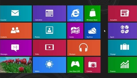 Windows 8 premiers pas interface