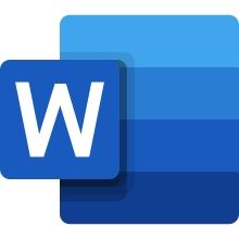logo officiel microsoft word 2019