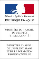 logo ministere emploi travail DIF