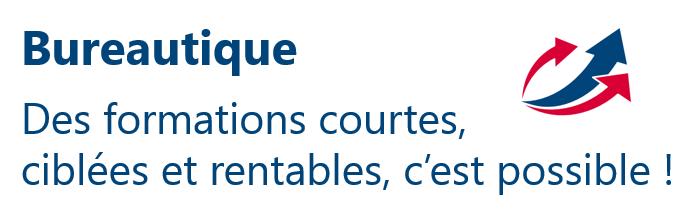 Formations bureautique avec parcours personnalisé